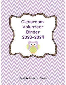 Classroom Volunteer COMPLETE Toolkit- Purple & Green Chevr