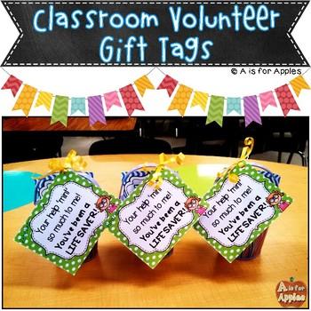 Volunteer Gift Tags