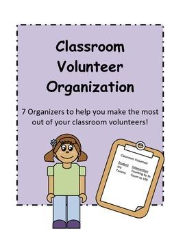 Classroom Volunteer Organizers