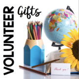 Classroom Volunteer Thank You Cards - EDITABLE - End of the year gifts