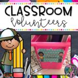 Classroom Volunteers (Activities and Ideas to Make Organiz