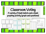 Classroom Voting: Ballots and Graphing