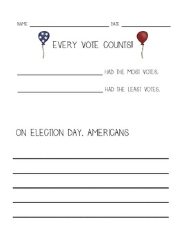 Classroom Voting / Election Packet