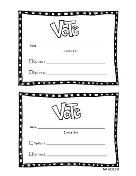 Classroom Voting and Election Kit