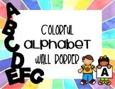 Classroom Wall Alphabet [Circular & Rectangular Options!]