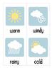 Classroom Weather Chart - Australian