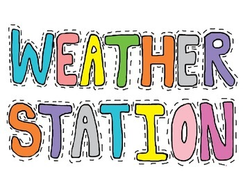 Weather Station, Color and Black and White,