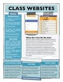 Classroom Websites using Weebly