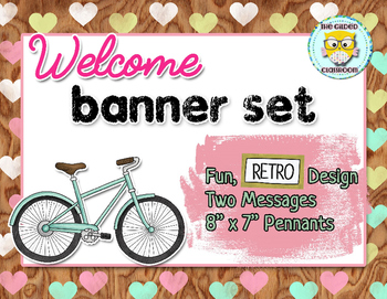 Welcome Banner, Retro theme