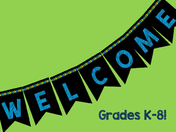 Classroom Welcome Banners