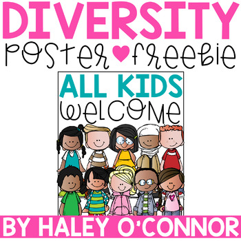Classroom Welcome Sign {All Kids Welcome}