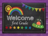 Classroom Welcome Sign - Editable