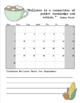 Classroom Wellness Log: 2018/2019 Daily and Monthly Wellness Log