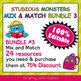 Classroom Where Are We Door Sign in Studious Monsters Theme - 100% Editable