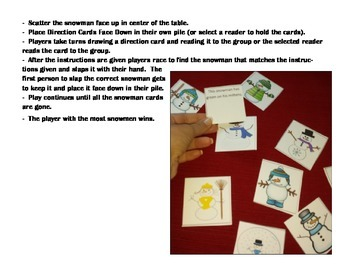 Classroom Winter Party Games Centers - Print, Go, and Learn