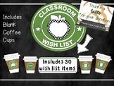 Classroom Wish List