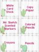 Classroom Wish List - Cactus Theme - Editable