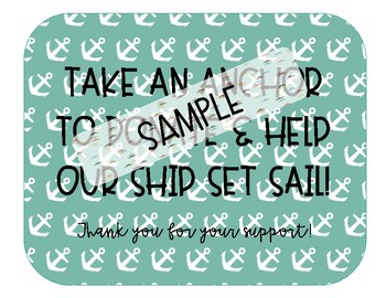 Classroom Wish List Nautical Themed (Help Our Ship Set Sail)