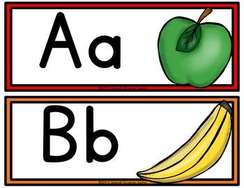 Classroom Word Wall Headers