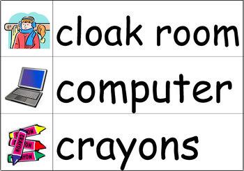 Classroom Words Word Wall