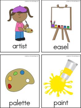 Classroom Writing Center Tools: School Words