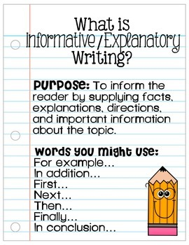 Classroom Writing Genre Posters
