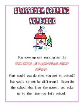 Classroom Writing Notebooks