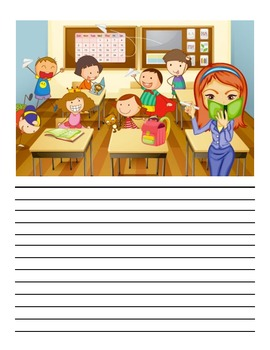 Classroom Writing Prompt