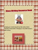 Classroom Writing Resource Book