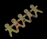 Classroom activity - Emotions with paper dolls.