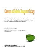Classroom and Behavior Management Strategies Package