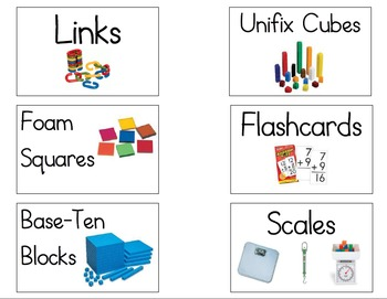 Classroom and Book Labels