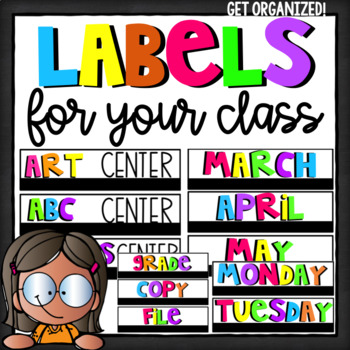 Editable Classroom and School Building Signs