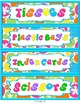 Classroom and School Supply Labels {Groovy Retro Flowers}