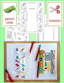 Classroom back to school vocabulary games and activities for EAL EFL ESL