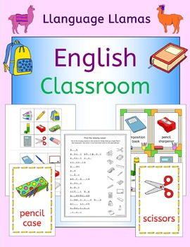 Classroom back to school vocabulary games and activities f