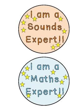 Classroom badges