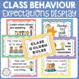 Classroom Behaviour Expectations Rules Display