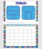 Classroom calendar - Owl themed