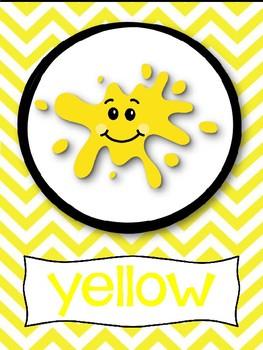 Classroom color poster freebie