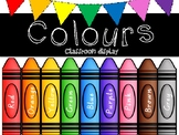 Classroom colours display