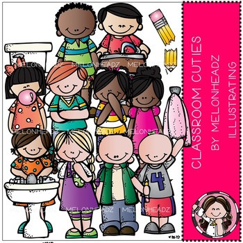 Classroom cuties clip art- by Melonheadz