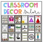 Classroom decor galore