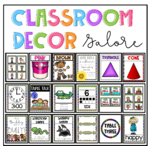 Classroom decor galore