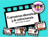 Expresiones idiomáticas y de sobrevivencia - Classroom decoration