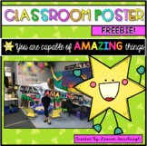 Classroom display poster FREEBIE