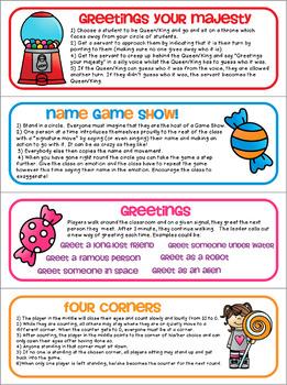 Classroom Games - Brain Breaks