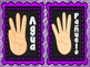 Classroom hand signs Spanish and English