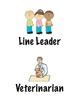 Classroom helpers/transportation signs