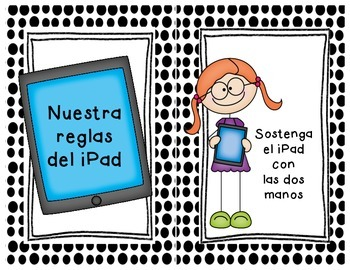 Our iPad Rules/Nuestra reglas del iPad